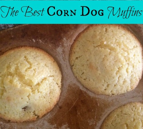 The Best Corn Dog Muffins