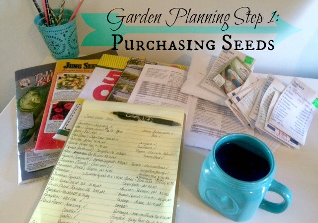 Garden Planning Part 1: Purchasing Seeds