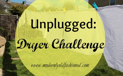 Go Unplugged: Dryer Challenge!