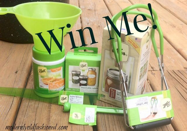 Canning Giveaway!