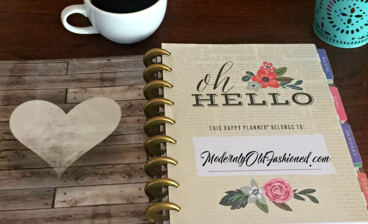 New Year: New Plan(ner)! Happy Planner review